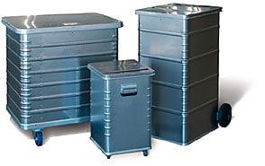 Container für Aktenvernichtung