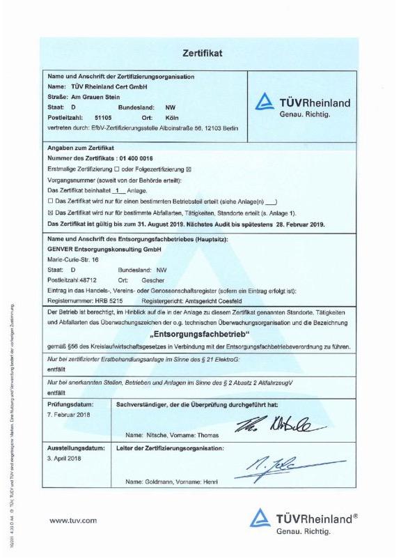 efb-zertifikat-vorschau - GENVER®